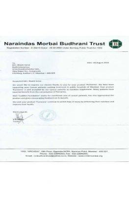 Naraaindas Morbai Budhrani Trust